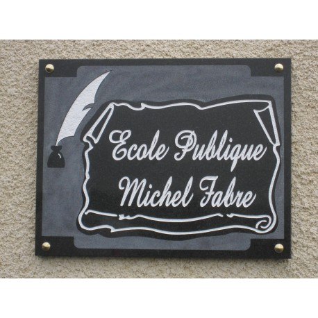 plaque commemorative sur mesure sarl favarel. Black Bedroom Furniture Sets. Home Design Ideas